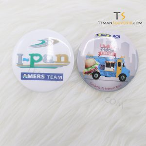 Pin 5,8 cm Glossy, barang promosi, barang grosir, souvenir promosi, merchandise promosi