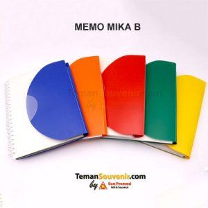 Memo Mika B, barang promosi, barang grosir, souvenir promosi, merchandise promosi