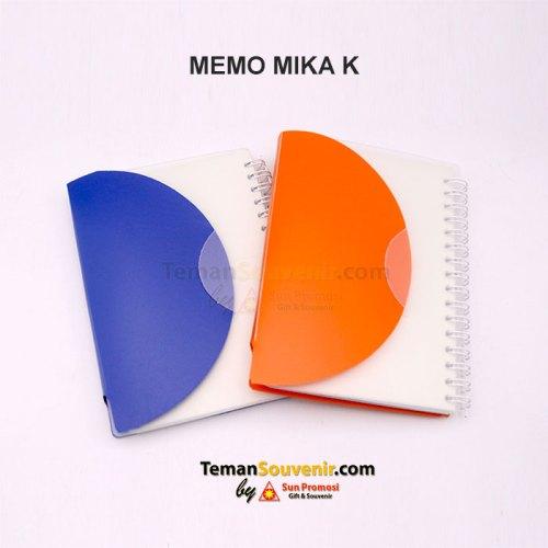 Memo Mika K, barang promosi, barang grosir, souvenir promosi, merchandise promosi