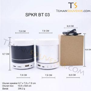 SPKR BT 03, barang promosi, barang grosir, souvenir promosi, merchandise promosi