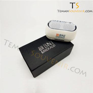 Giftset Speaker Bluetooth BNI EMERALD, barang promosi, barang grosir, souvenir promosi, merchandise promosi