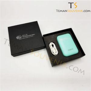 Souvenir promosi Giftset Powerbank, barang promosi, merchandise promosi, souvenir promosi, barang grosir