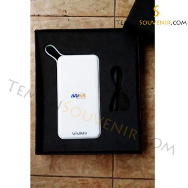 Giftset Powerbank Vivan BRINS, barang grosi, souvenir promosi, barang promosi, merchandise promosi