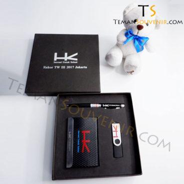 Giftset 3 in 1 - Pen laser, NC 02 & USB OTG 01, barang promosi, barang grosir, merchandise promosi, souvenir promosi