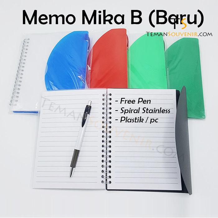 New Memo Mika B, barang promosi, barang grosir, souvenir promosi, merchandise promosi