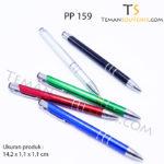 PP 159 - Pen Plastik 159, barang promosi, barang grosir, souvenir promosi, merchandise promosi