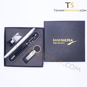 GIFSET 3 IN 1 - Bank Sultra, barang promosi, barang grosir, souvenir promosi, merchandise promosi