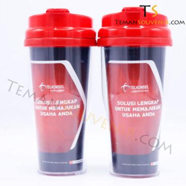 Tumbler Rich - Telkomsel,souvenir promosi,barang promosi,merchandise promosi,barang grosir