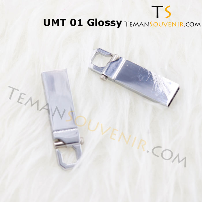 UMT 01 Glossy-USB Metal,souvenir promosi,merchandise promosi,barang promosi,barang grosir