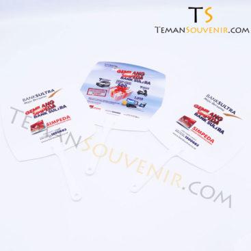 Kipas Plastik - Bank Sultra,souvenir promosi,merchandise promosi,barang promosi,barang grosir