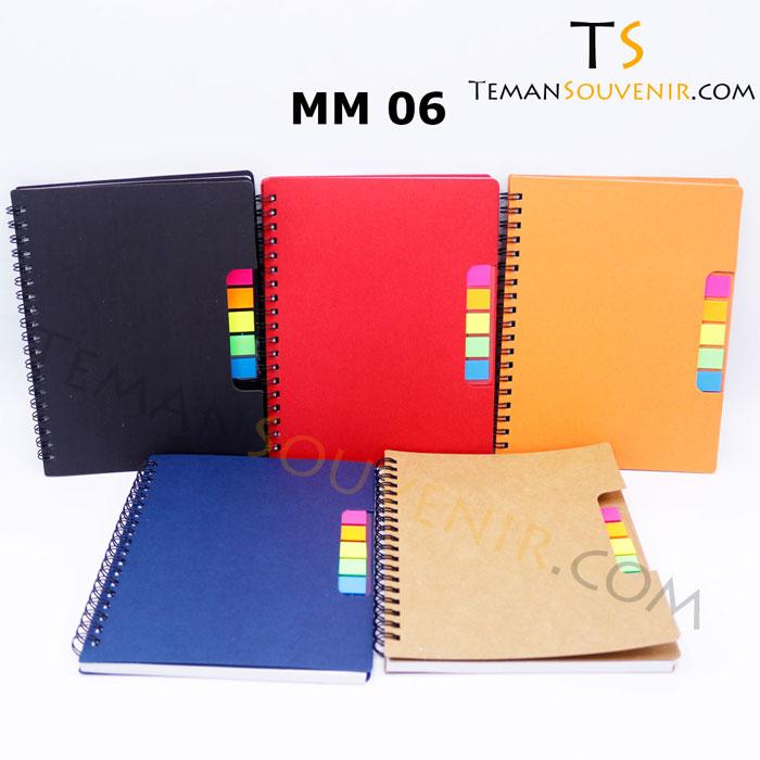 Memo Recycle - MM 06,souvenir promosi,merchandise promosi,barang promosi,barang grosir