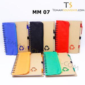 Memo Recycle - MM 07,souvenir promosi,merchandise promosi,barang promosi,barang grosir