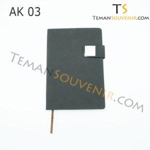 Agenda-AK 03,souvenir promosi,merchandise promosi,barang promosi,barang grosir