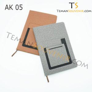 Agenda-AK 05,souvenir promosi,merchandise promosi,barang promosi,barang grosir