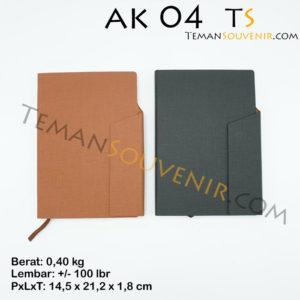Agenda-AK 04,souvenir promosi,merchandise promosi,barang promosi,,barang grosir