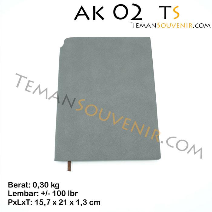 Agenda-AK 02,souvenir promosi , barang promosi,merchandise promosi,barang grosir