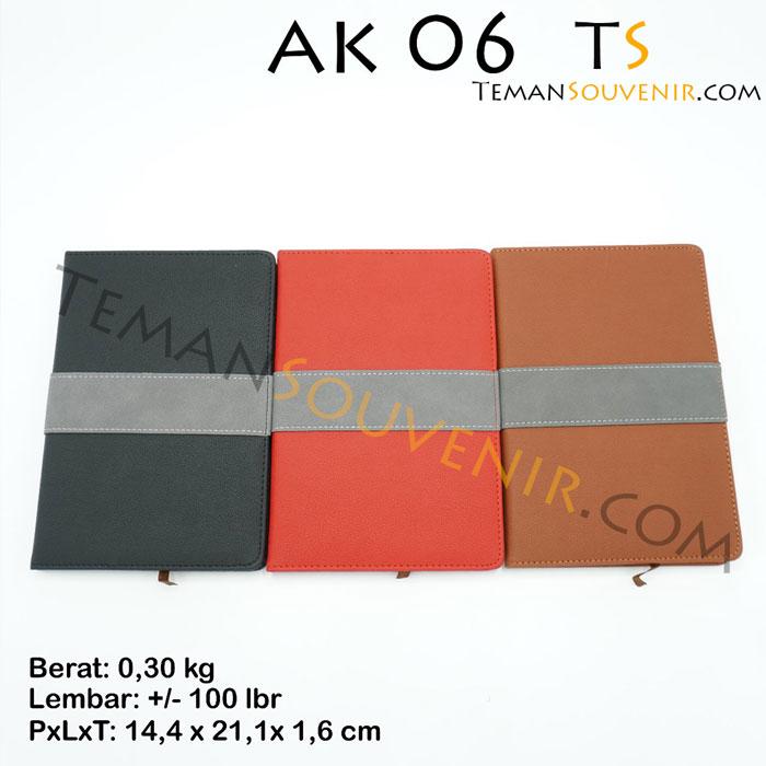 Agenda-AK 06,souvenir promosi,barang promosi,merchandise promosi,barang grosir