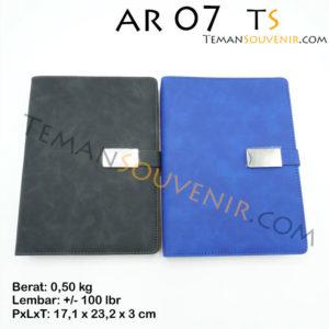 Agenda-AR 07,souvenir promosi,merchandise promosi,barang promosi,brang grosir