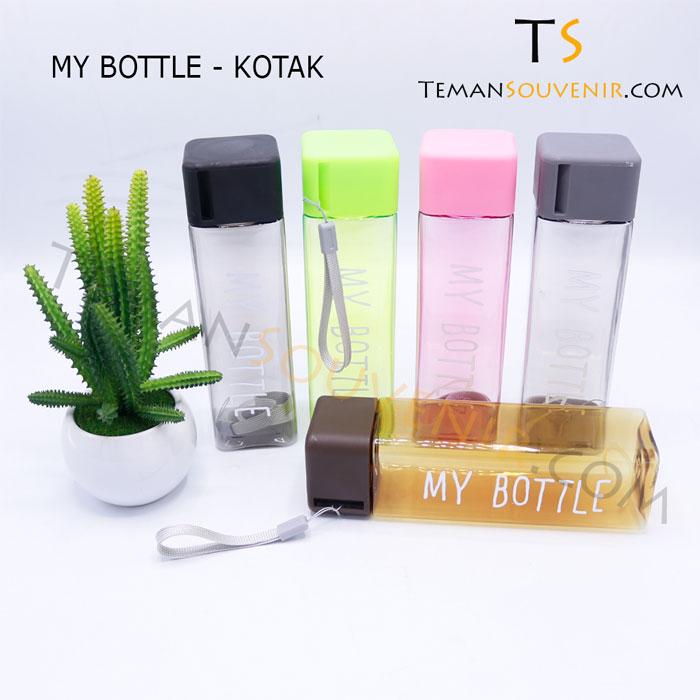 MY BOTTLE - KOTAK,souvenir promosi,barang promosi,merchandise promosi,barang grosir