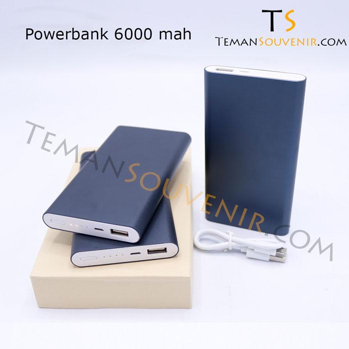 Powerbank 6000 mah,souvenir promosi,barang promosi,mercahandise promosi,barang grosir
