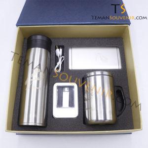 Gifset 4 in 1-TS 18,MS 03,UMT OTG 01 & powerbank,souvenir promosi,merchandise promosi,barang promosi,barang grosir