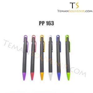 Pen Plastik-PP 163,souvenir promosi,barang promosi,merchandise promosi,barang grosir