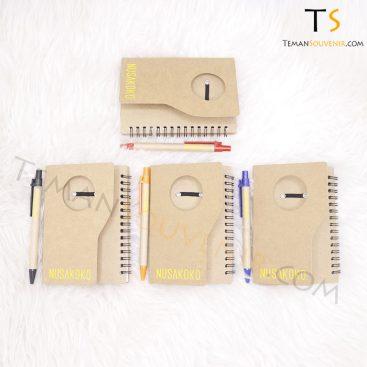 Souvenir Promosi Memo Recycle – MM 01,souvenir promosi,barang promosi,merchandise promosi,barang grosir