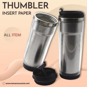Thumbler Insert Paper